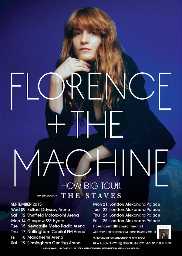 machine tour dates